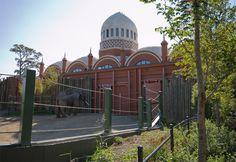 Cincinnati Zoo Historic Structures in eastern Cincinnati, Ohio.