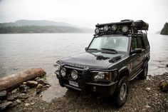 Land Rover Discovery II (Fossil Beach, Harrison Lake, BC)