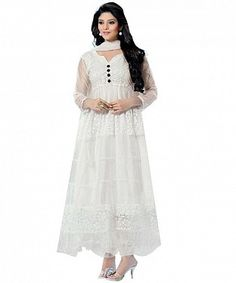 WHITE BRASSO SUIT@ Rs.470.00