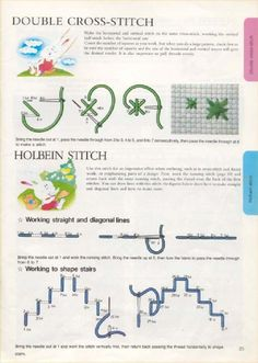 Hand Embroidery Art, Embroidery Stitches, Embroidery Ideas, Needlepoint Stitches, Needlework, Swedish Weaving, Stitch Book, Chicken Scratch, Weaving Projects