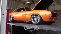 We had Ronnie Buhr's Detroit Speed built 1969 #Camaro up on the dyno yesterday at Pro Motor. Ronnie's Mast Motorsports LS7 put up 540hp on the rear wheel.