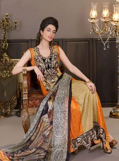 Women like different design for event so in summer search latest summer dress collection. Sadia Asad introduce every year latest collection for party wear.