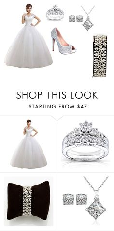 """""""represent India wedding"""" by raven-536 ❤ liked on Polyvore featuring Kobelli and Lauren Lorraine"""