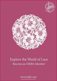 International lace guild OIDFA (L'Organisation Internationale de la Dentelle au…