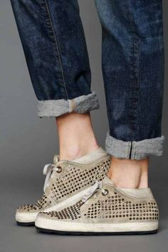 the best attitude c7d6b 017da Free People   OXS studded sneakers Studded Sneakers, Shoes Sneakers,  Footwear Shoes, Wedge