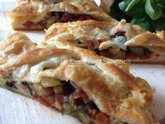 La Cucina di Stagione: Strudel di verdure estive e scamorza affumicata