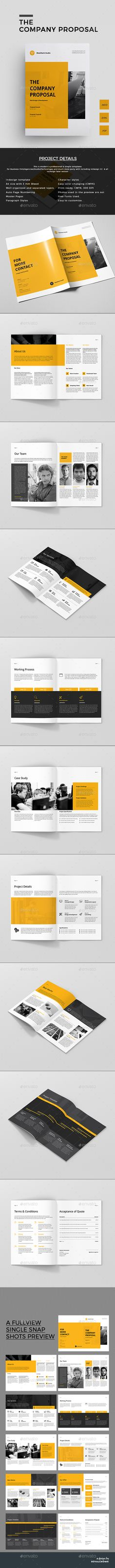 Clean Business Proposal Business proposal template, Business - proposal templates