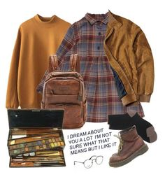 """Untitled #857"" by paper-freckles ❤ liked on Polyvore featuring Frye, Épice, Maria La Rosa, Dr. Martens and Ray-Ban"