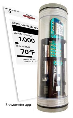 Brewometer: Floating Wireless Hydrometer and Thermometer for Brewing | Brewometer