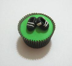 Cupcake Chuteiras ! curta nossa página no Facebook: www.facebook.com/sonhodocerj