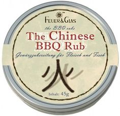The Chinese barbecue marinade. Bbq Rub, Barbecue, Spice Blends, Spicy, Grilling, Chinese, Hot, Fire, Glass