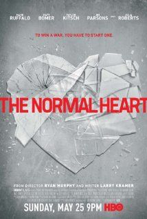 "The Normal Heart (HBO-2014) focuses on a gay activist who attempts to raise HIV/AIDS awareness during the early 1980s.  Directed by Ryan Murphy, written by Larry Kramer.  Stars: Mark Ruffalo, Jonathan Groff, Frank De Julio, William DeMeritt, Matt Bomer and other actors.  The Critics' Choice Television Awards recognized the movie ""The Normal Heart"" as WINNER for the category of Best Movie. (HBO), also nominated for an Emmy Award for Outstanding Television Movie."