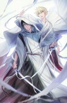 Whoa this looks amazing! | Yato and Yukine - katanas | Noragami