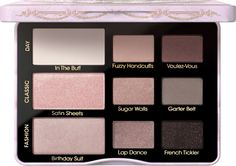 Too Faced Boudoir Eyes Soft & Sexy Eyeshadow Palette Item #: 2254220 Size: 0.39 oz $36.00