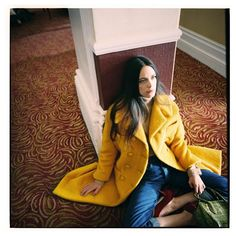 Stacy Martin pose for So It Goes Magazine Fall Winter 2015 Photoshoot