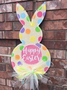 Easter Door Hanger Easter Bunny Door Hanger by CrazyArtTeacherLady