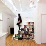 Renovated apartment in Ravel, Barcelona by Eva Cotman