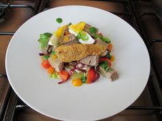 JHS /Gino D'Aquino    Salade de Veau avec petits legumes ,sauce de roquette  Gino D'Aquino