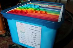 Get Organized: File Box Project, Part 2 |
