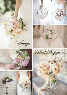 vintage flower bouquets