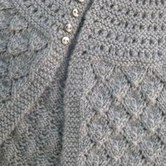 Circular yoke, top down, knit baby sweater - try this yoke (increase on one row w/yo's, next row yo/k2tog keep stitch count the same . . . interesting pattern