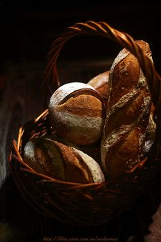 bread 1 by Vivian An, via Flickr - Beautiful photography!