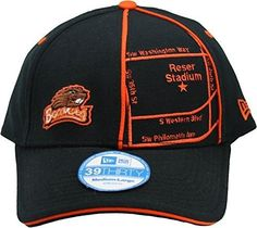 New Era 39Thirty Oregon State Beavers 'Stadium Series' Adult Flex Fit Cap Hat M/L, Size: Medium/Large