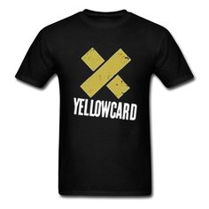 Yellowcard The Final World X logo Fashion T-shirt for men XXL -- Awesome products selected by Anna Churchill
