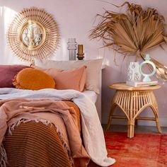 Linen closet organization gebrannte orange Inneneinrichtung Ideen A Thermostat That Speaks To A Cons Bedroom Orange, Bedroom Red, Room Ideas Bedroom, Bedroom Colors, Home Bedroom, Colourful Bedroom, Orange Bedding, Colorful Bedding, Warm Bedroom