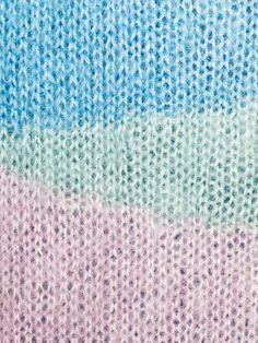 pastel knitting