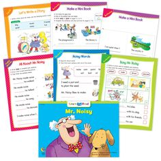 Mr Noisy Builds A House Ebook Worksheets Creative Teaching Press Improve Reading Comprehension, Reading Strategies, Sight Word Sentences, Vocabulary Words, Learn To Read Books, Nouns And Pronouns, Creative Teaching Press, Math Work, 12th Book