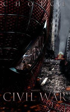 Marvel's Civil War Spider-Man Choice Poster by Enoch16.deviantart.com on @deviantART