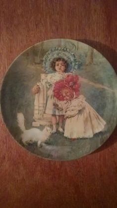 A Surprise for Kitty collector's edition plate