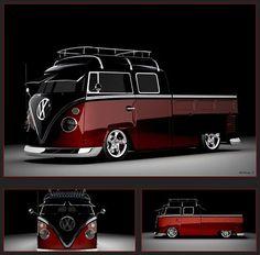 Classic VW - 3D rendering