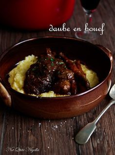 Luscious Daube Beef Cheeks in the Slow Cooker