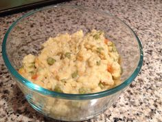 Easy pot pie without the pie! My 1 year old twins devoured this! 1 can cream of chicken, 1 cup pasta stars, 1 small can vegetables, salt, pepper, season to you taste! Cook the pasta, drain, add the rest of the ingredients and cook until warm. I made this up after feeding them the premade toddler dinners, it's way better, cheaper and healthier!