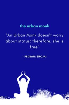 The Urban Monk Book Quotes. A book for health and self development.