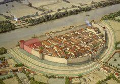 Roman Castrum - City of Epomanduodurum (Mandeure, Franche-Comté, France)
