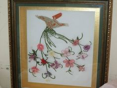 This Pin was discovered by Nag Diy And Crafts, Embroidery, Frame, Home Decor, Picture Frame, Needlepoint, Decoration Home, Room Decor, Frames