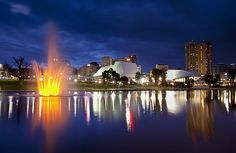 River Torrens at Night | Adelaide, South Australia