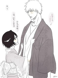 Image uploaded by Fanny. Find images and videos about bleach, Ichigo and rukia on We Heart It - the app to get lost in what you love. Kon Bleach, Bleach Ichigo And Rukia, Kuchiki Rukia, Bleach Manga, Manga Anime, Fanarts Anime, Anime Art, Studio Ghibli Wallpaper, Bleach Couples