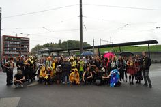 Group Photo from Atlantis her first Meet with Otakus.   Sunday 18.Sept. 2016 Westside Bern (Switzerland) Photo taken by Leonie Joanne on Facebook