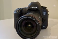 New Canon EOS 5D Mark III launching. I want one.