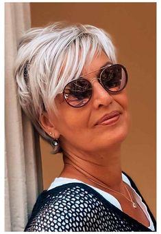 Short Grey Hair, Short Hair Older Women, Haircut For Older Women, Haircuts For Fine Hair, Short Hair With Layers, Short Hairstyles For Women, Short Hair Cuts For Women Over 50, Black Hair, Best Short Hair