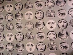 Fornasetti wallpaper!!!