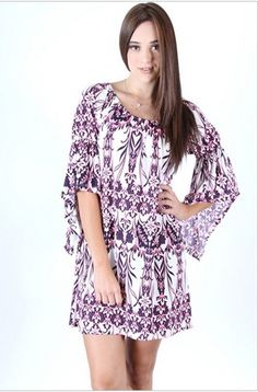 Bell Sleeve Dress – mimosaalley.com