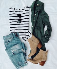 Women's Short-Sleeve Striped … curated on LTK Green Cardigan, Dress With Cardigan, Sweater Cardigan, Car Seat And Stroller, Tan Blazer, Jeans With Heels, Polka Dot Sweater, Cute Costumes, Brown Booties