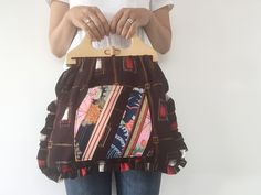 Handmade Japanese patchwork bag, available from Umi Umi.