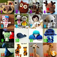 superslyskillzmcfly:  First, let me say I commend TrueBlueMeandYou for doing round ups like this all the time. This was a lot more work than I expected! (Not that I minded at all.) Someone asked me to do an amigurumi round up and while this is nowhere near inclusive, I tried to pick some good ones. There's always Ravelry if you want to find more! Here they are: 1. Owlets by Roman Sock 2. Owls Two Ways by Ocean of Stitches on Ravelry* 3. Puppy Love(many puppy patterns) by By Hook, By Hand 4…