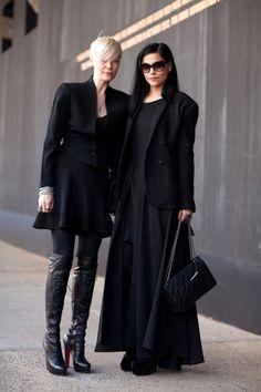 Kate Lanphear and Leigh Lezark